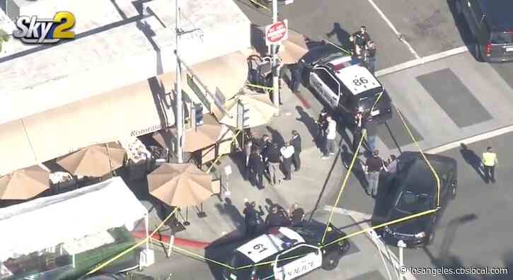 Woman Shot In Robbery Targeting Owner Of Beverly Hills Jewelry Store