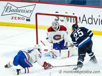 Liveblog: Jets lead Canadiens 2-0 after first period
