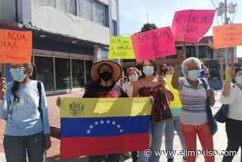 ¡De nuevo a la calle! En Acarigua protestaron por escasez de agua potable #4Mar - El Impulso