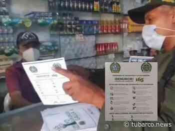 Gaula visitó comercios en Baranoa con recomendación para prevenir la extorsión, delito que ha dejado hasta muertos en el Atlántico - TuBarco