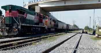 Cae del tren migrante hondureño en Apan, termina con pie mutilado - Periódico AM