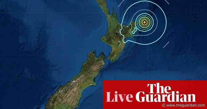New Zealand tsunami warning: residents praised for following evacuation advice – live