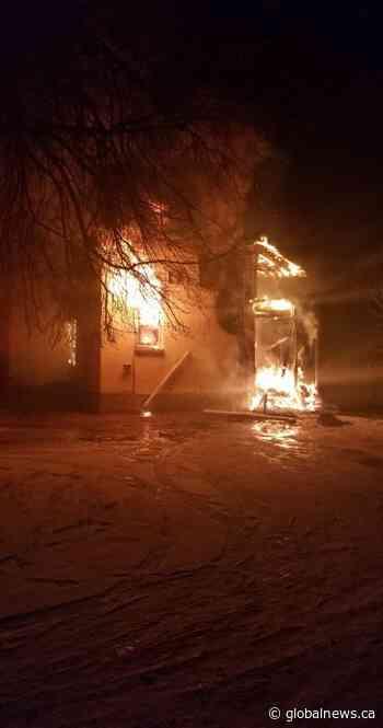 Arrest made in Portage la Prairie suspicious fire - Globalnews.ca