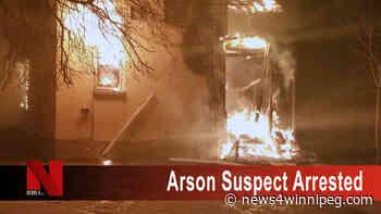 RCMP make arrest in Portage la Prairie arson - News 4