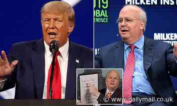 Trump calls Karl Rove a 'pompous fool' and a 'RINO of the highest order'