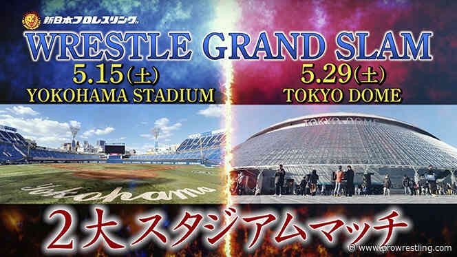NJPW Announces Major Tokyo Dome & Baseball Stadium Shows For This May