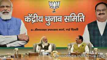 BJP cancels central election committee meeting today