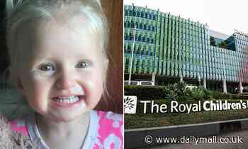 Toddler survived drinking cleaning liquid then died from botched hospital procedure