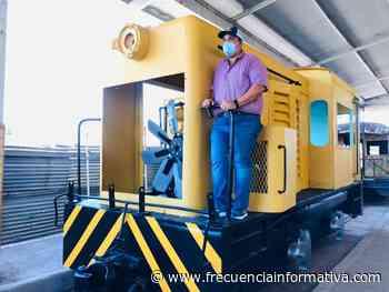 Entregan locomotora del antiguo ferrocarril de Bugaba - Chiriquí - frecuenciainformativa.com