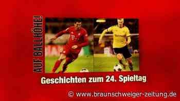 Auf Ballhöhe! Die Geschichten zum 24. Bundesliga-Spieltag