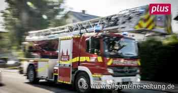 Ein Schwerverletzter bei Brand in Ober-Olm - Allgemeine Zeitung