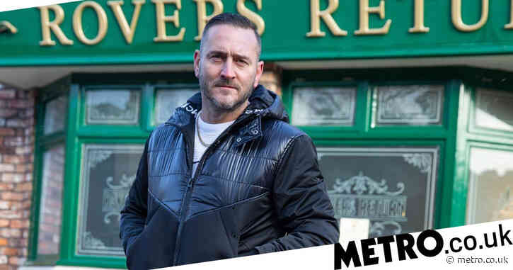 Coronation Street star Will Mellor opens up on alcohol dependence after his dad's death