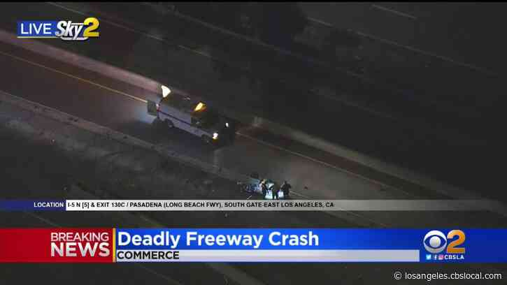Deadly Crash Shuts Down All I-5 Northbound Lanes Near Commerce