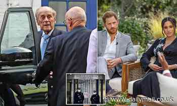 Prince Philip, 99, prepares to spend third weekend away from the Queen as Royals brace for Oprah