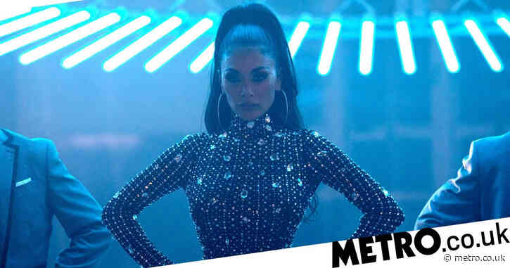 Nicole Scherzinger sizzles in blinged-up bodysuit in sexy teaser for Luis Fonsi collaboration