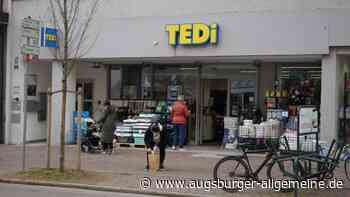 Die Tedi-Filialen in Augsburg dürfen geöffnet bleiben
