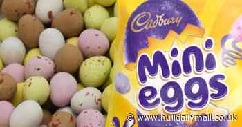 Cadbury Mini Eggs cookbook is a recipe for success ahead of Easter