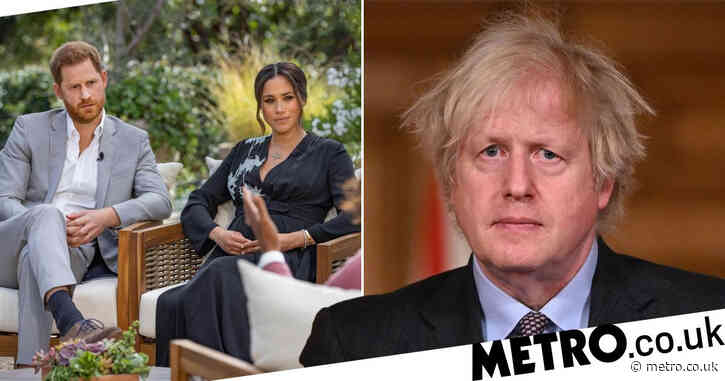 Boris Johnson dragged into row over claims Meghan bullied staff