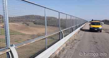 Viadotto Castelvecchio a Massa Martana, completata installazione pannelli sicurezza - TuttOggi