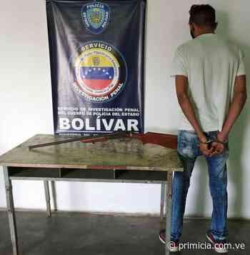 Lo arrestaron en un despliegue realizado en Caicara del Orinoco - primicia.com.ve