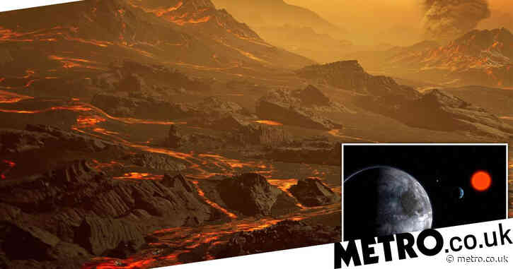 This rocky, volcanic exoplanet may be a candidate for alien life
