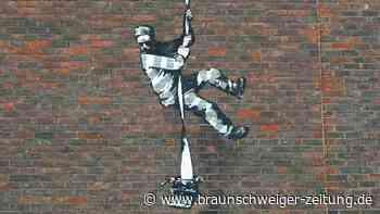 Banksy bekennt sich zu Gefängnis-Graffiti