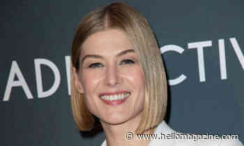 Why Rosamund Pike left her lovingly restored London home for a life in Prague