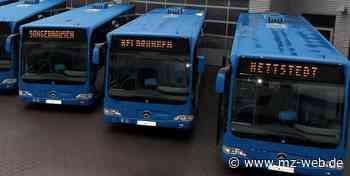 Polizei kontrolliert Sicherheit an VGS-Schulbussen in Hettstedt - Mitteldeutsche Zeitung