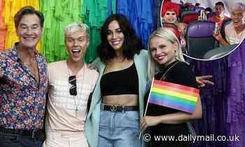 Jack Vidgen joinsAlli Simpson for  Virgin Pride Flight ahead of theSydney Mardi Gras