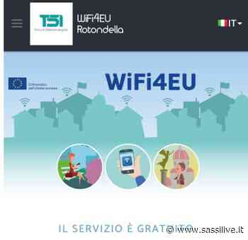 Comune di Rotondella tra i vincitori del bando Wifi4Eu - Sassilive.it