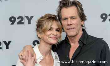 Kevin Bacon shares adorable throwback photo with his 'love' Kyra Sedgwick - and she reacts