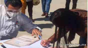Entregó Coesvi escrituras a familias de bajos recursos de Camargo - El Tiempo de México