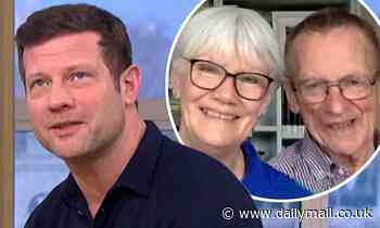 Dermot O'Leary emotional with parents and leaves This Morning viewers baffled as calls them 'LADS'