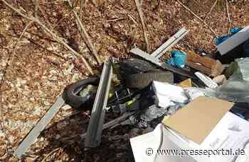 POL-KB: Haina: Unbekannte entsorgten ihren Müll illegal in der Gemeinde - Polizei bittet um Hinweise - Presseportal.de
