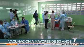 Más de 8,000 adultos mayores fueron vacunados este jueves en San Miguelito - Telemetro