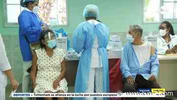 Adultos mayores se vacunan contra la COVID-19 en San Miguelito - TVN Panamá