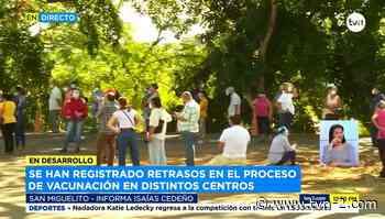 Retrasos en el inicio de la jornada de vacunación en San Miguelito - TVN Panamá
