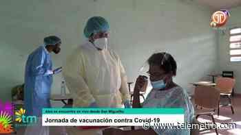 Jornada de vacunación COVID-19 en San Miguelito - Telemetro