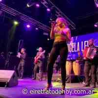 ¡Ángela Leiva puso a bailar a Mar del Plata! - El Retrato de Hoy