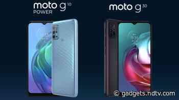 Motorola Moto G10 Power, Moto G30 India Launch Date Set for March 9