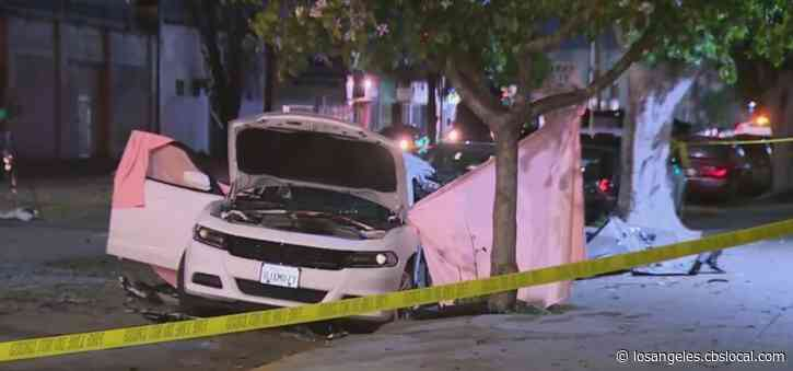 Woman Killed In Collision At South LA Intersection