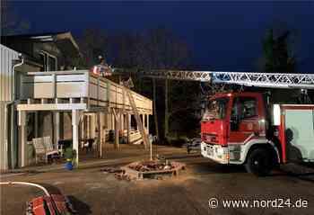 Sittensen: Küchenbrand greift auf Dachstuhl über - Nord24