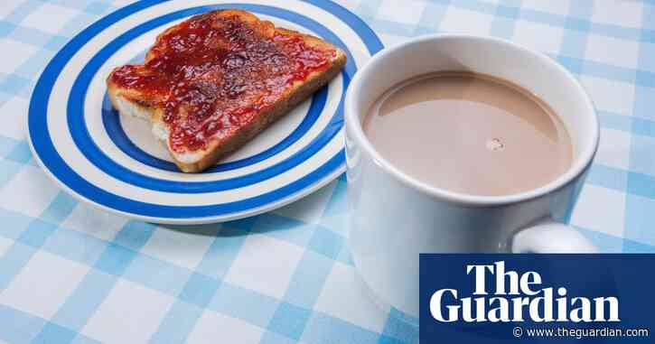 How to eat: toast and jam