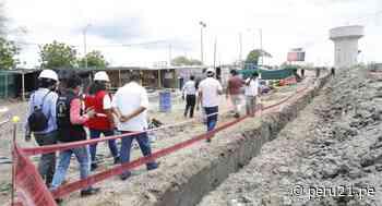 Tumbes: proyecto de saneamiento para Aguas Verdes beneficiará a más de 18 mil personas - Diario Perú21