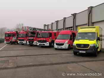 Hulpverleningszone Waasland vernieuwt wagenpark