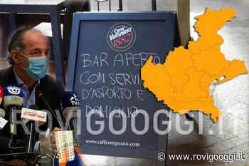 Da lunedì bar e ristoranti chiusi, possono lavorare solo con l'asporto - RovigoOggi.it