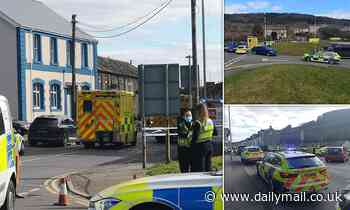 Rhondda: One person feared dead after 'knife attack in Chinese takeaway' in Welsh village