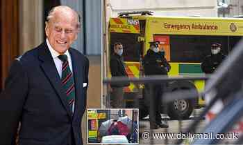 Prince Philip moves from cardiac centre to hospital after heart surgery