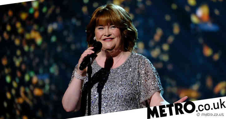 Susan Boyle gets coronavirus vaccine as she sees 'light at the end of the tunnel'