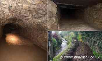 Tintern Abbey: Mystery medieval tunnels discovered by workmen